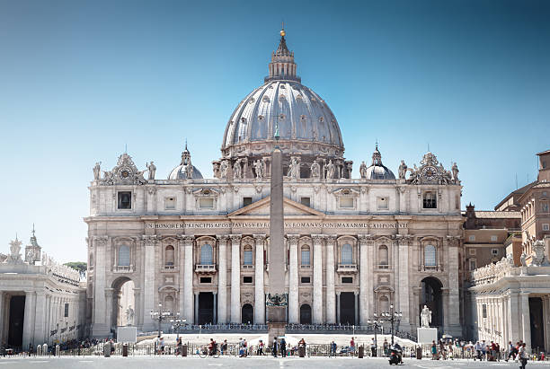 st. peter's basilica - peter the apostle stock photos and pictures