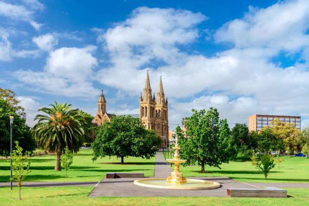 St.-Petri Dom in Adelaide city – Foto