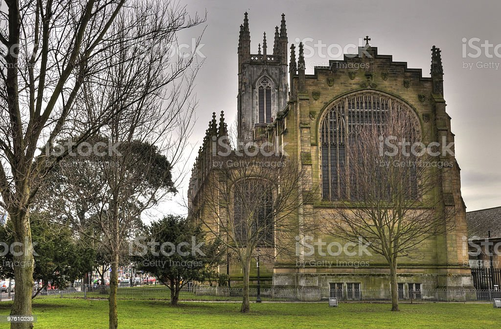 St Peter's Church, Brighton royalty-free stock photo