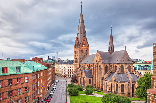 St. Peters Church in Malmo, Sweden