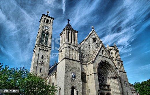 Church, USA, New York, East Coast USA, Cross