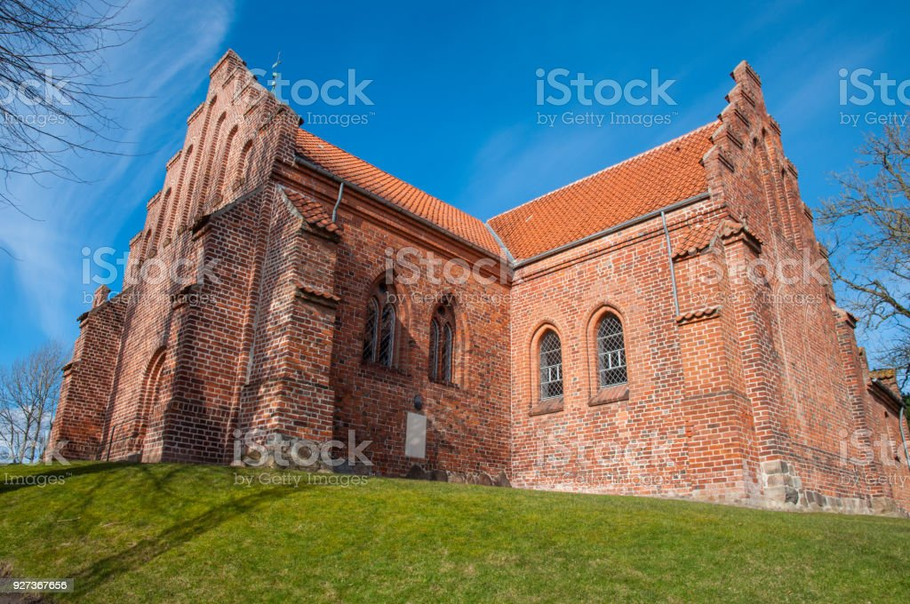 St. peters church in town of Slagelse in Denmark St. peters church in town of Slagelse in Denmark on a sunny day Architecture Stock Photo