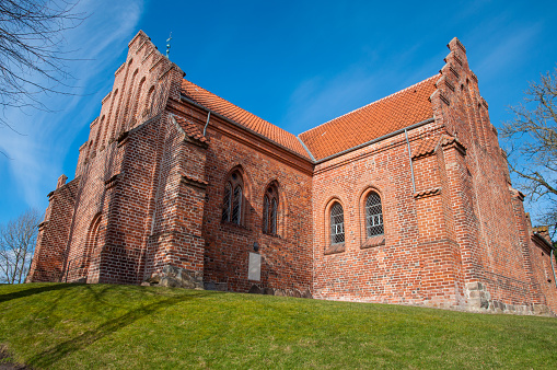 St Peters Church In Town Of Slagelse In Denmark Stock Photo - Download Image Now
