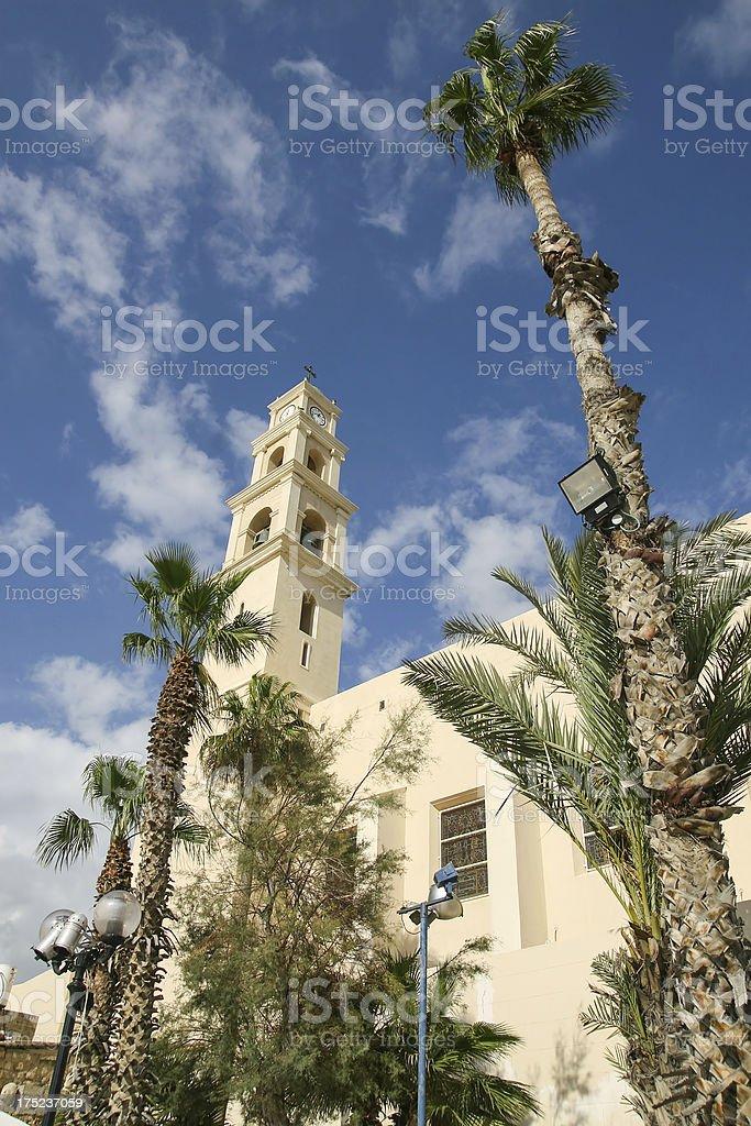 St. Peter's Church, Jaffa royalty-free stock photo
