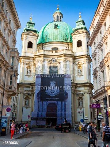 istock St Peter's Church on the Petersplatz, Vienna. 458296061