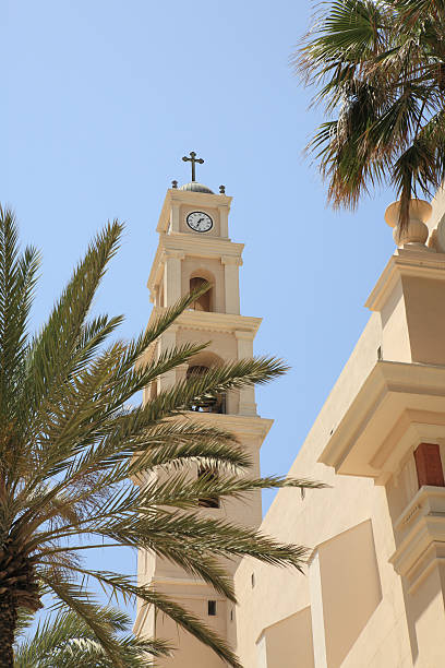 St. Peter's Church (Jaffa Tel Aviv) stock photo