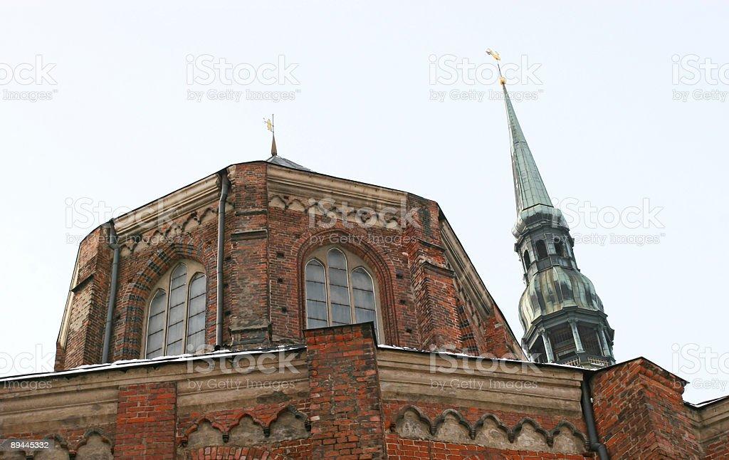 Église Saint-Pierre photo libre de droits