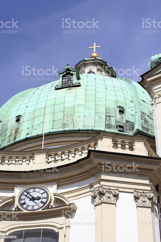 Peterskirche, Wien royalty-free stock photo