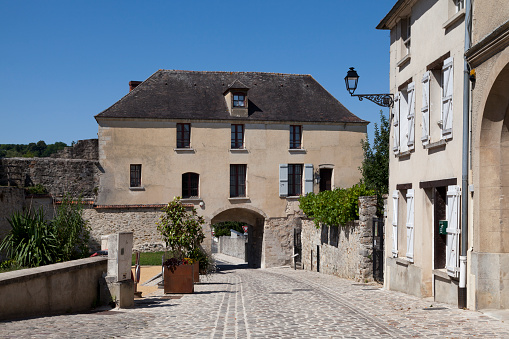 St Peters Gate In Châteauthierry Stock Photo - Download Image Now