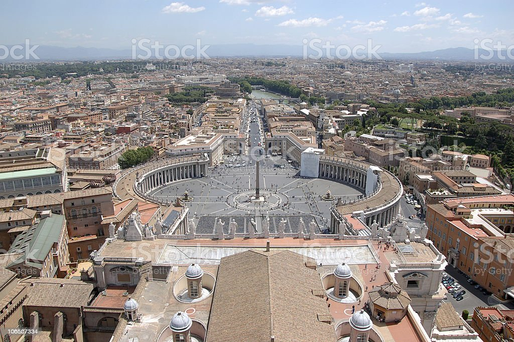 St. Peter's square royalty-free stock photo