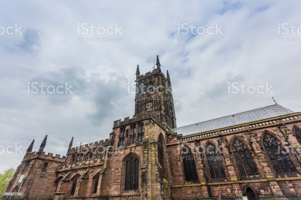 St Peters Wolverhampton stock photo