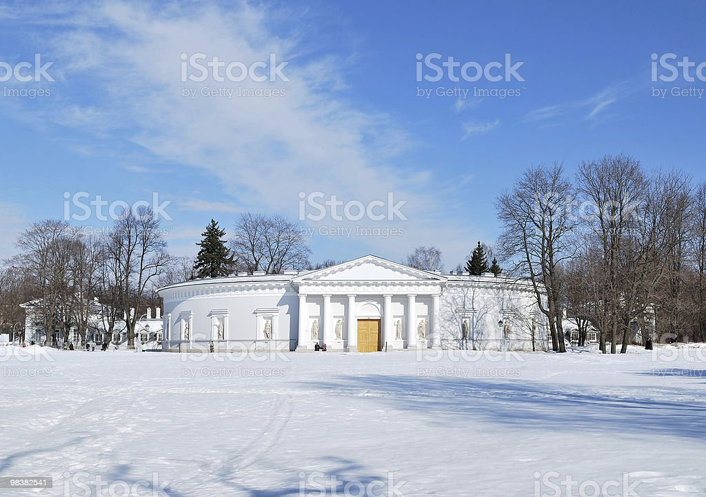 St. Petersburg. Elagin Island royalty-free stock photo