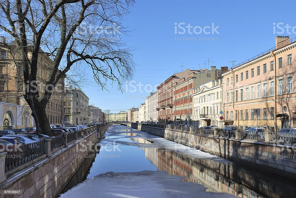 St. Petersburg. Griboyedov Canal royalty-free stock photo