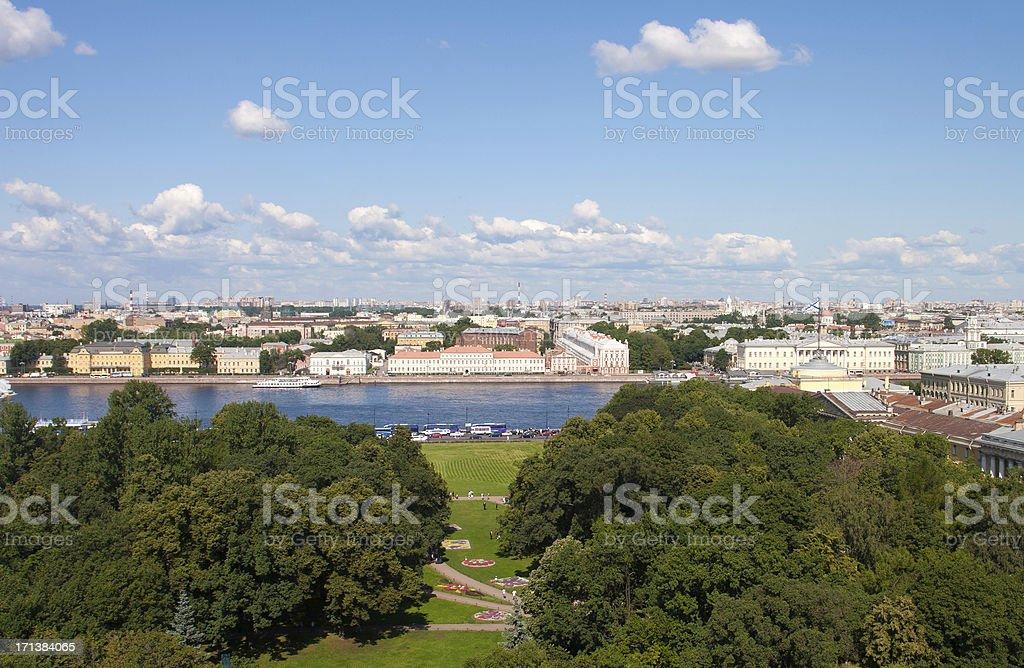 St. Petersburg – Überblick – Foto