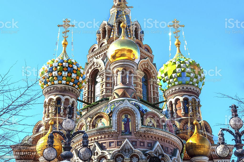 St Petersburg stock photo