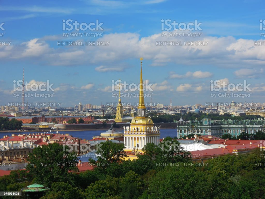 St. Petersburg, Russia, Peter and Paul Fortress photo libre de droits