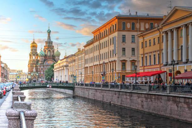 St. Petersburg, Russland – Foto