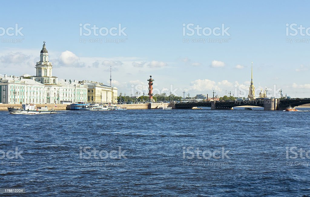 St. Petersburg, Russia stock photo