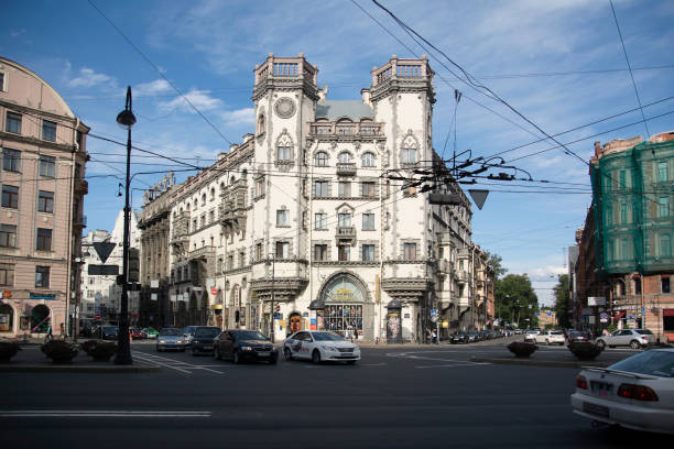 St. Petersburg Theater Russian Entreprise St. Petersburg, Russia - Jule 10, 2016 St. Petersburg Theater