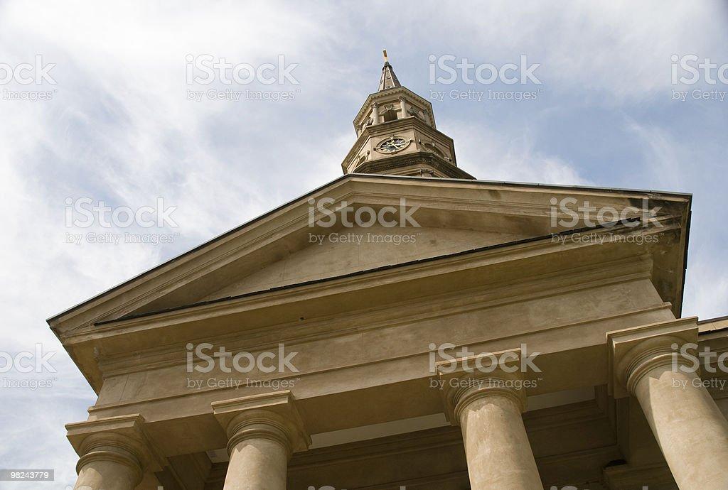 St Philips Episcopal Church, Charleston, SC royalty-free stock photo