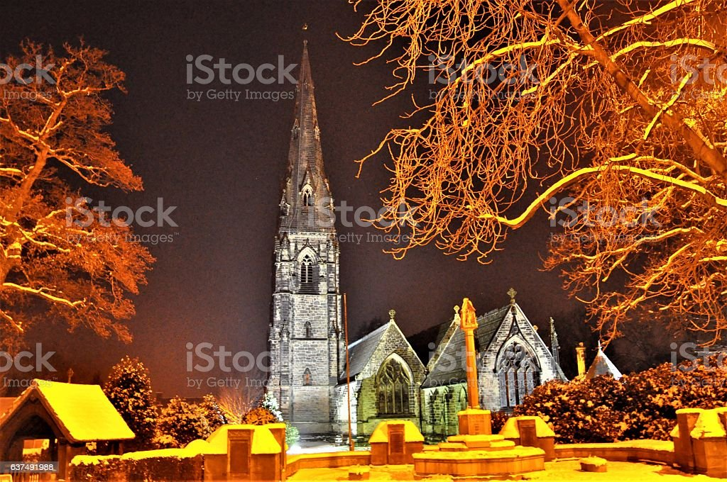 St Philps and St JAmes Church stock photo