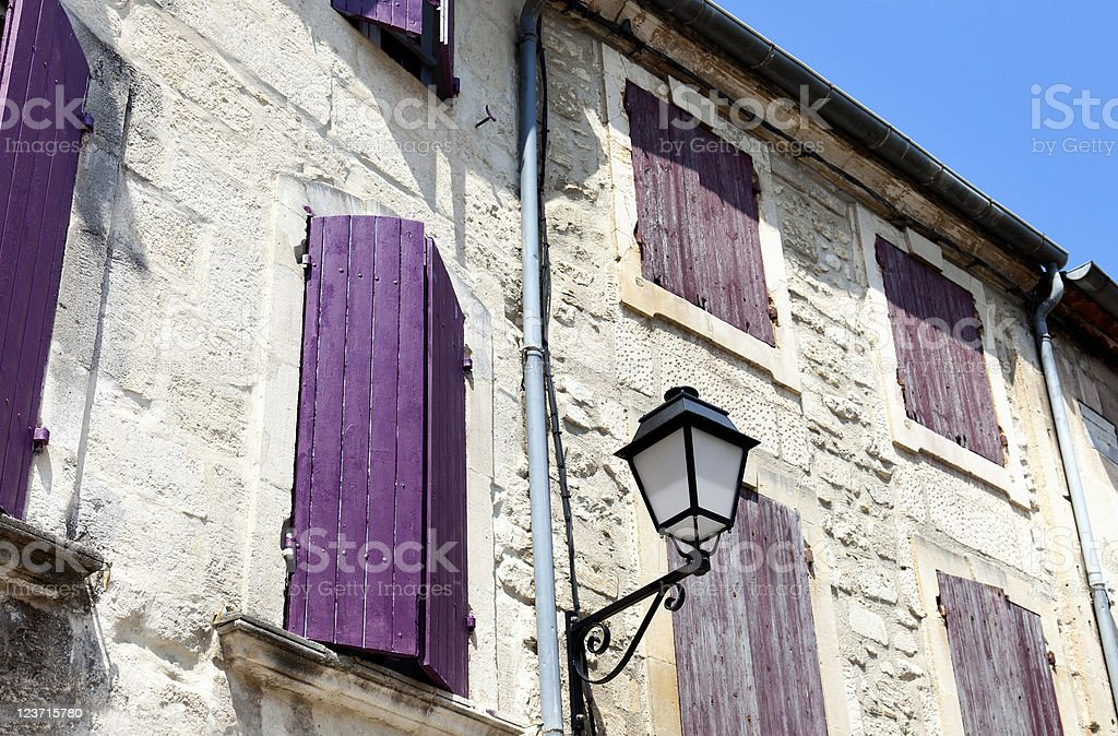St. Remy de Provence (France) stock photo