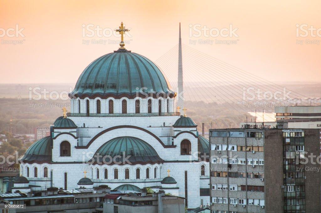Temple de Saint Sava à Belgrade - Photo