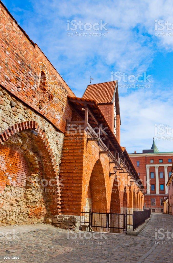 St. Saviour's Anglican Church in Riga, Latvia royalty-free stock photo