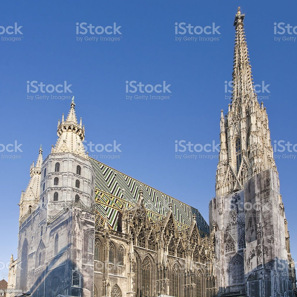St Stephan Cathedral, Vienna, Austria royalty-free stock photo