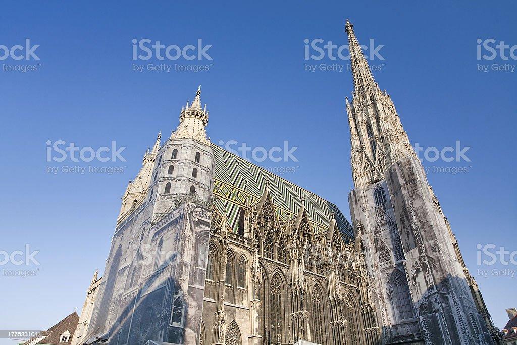 St Stephan Cathedral, Vienna, Austria stock photo