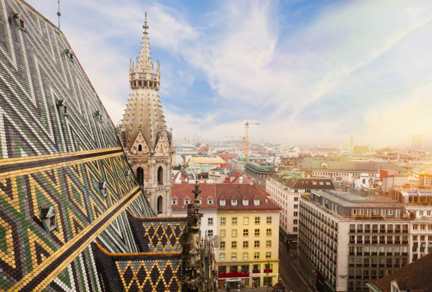 st. stephen cathedral in vienna, austria - vienna stock photos and pictures