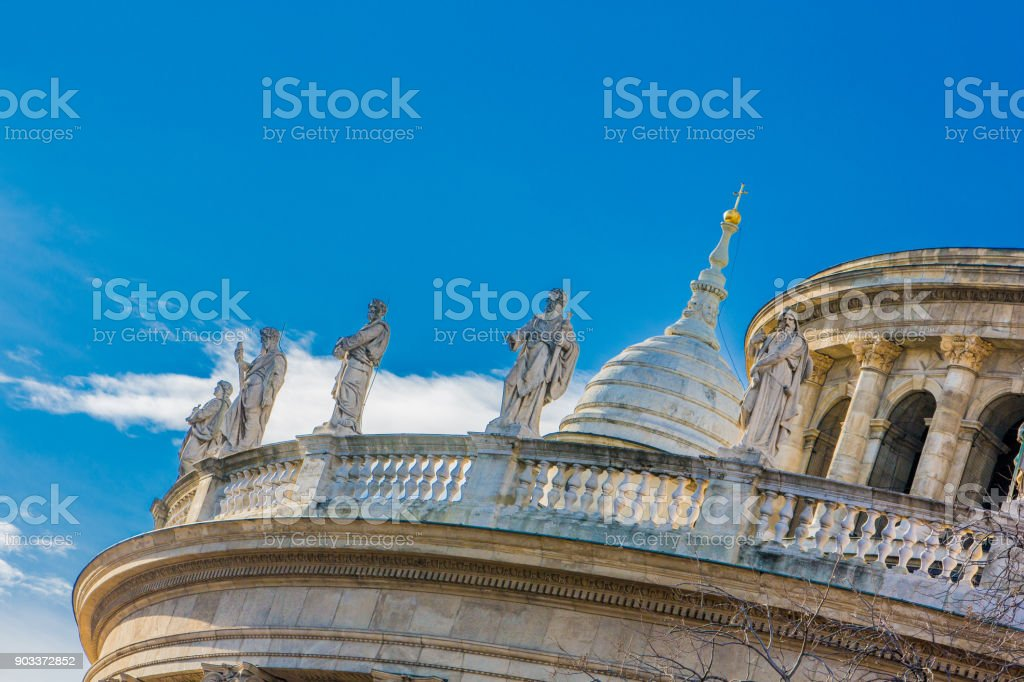 St. Stephen's Basilica, Budapest stock photo
