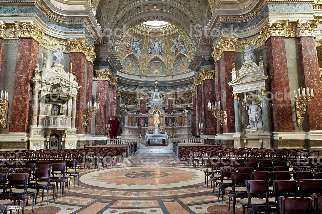 St. Stephen's Basilica royalty-free stock photo