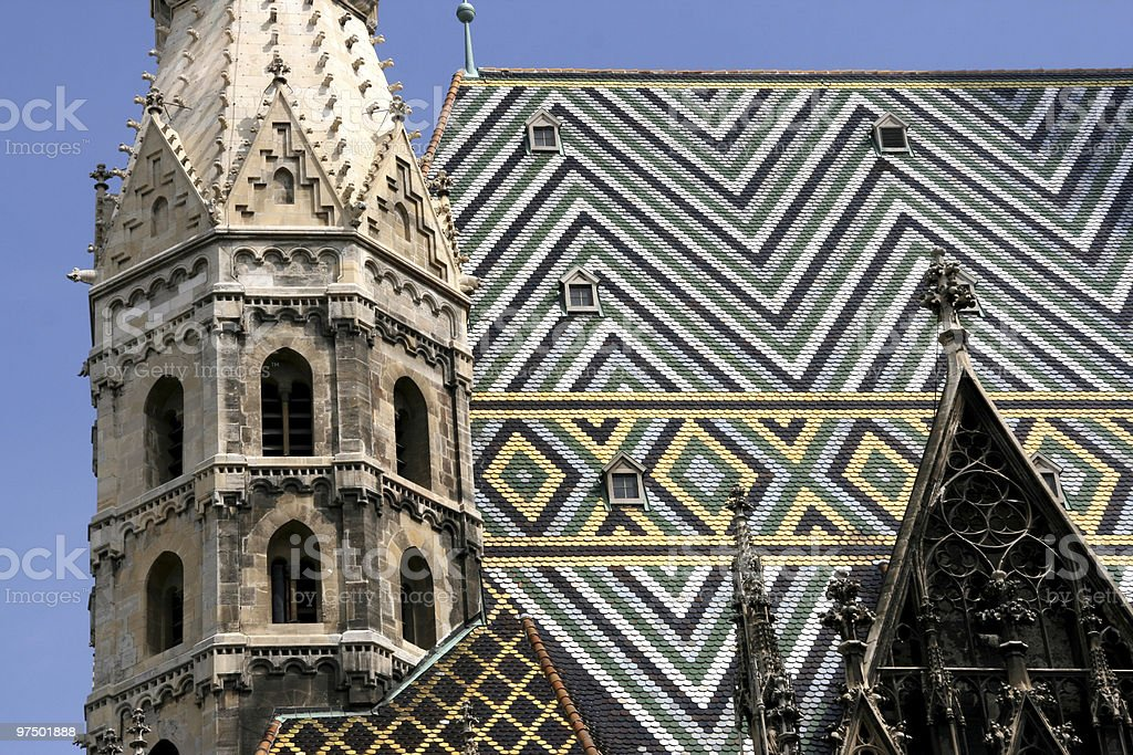 Stephansdom cathedral royalty-free stock photo