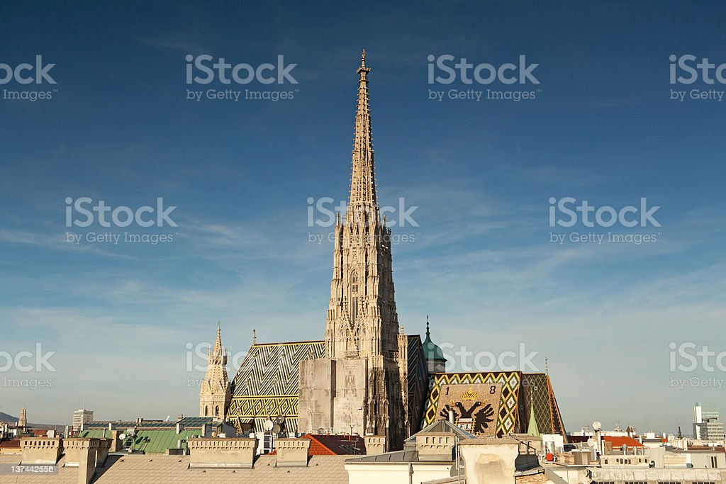 St Stephens Cathedral stock photo