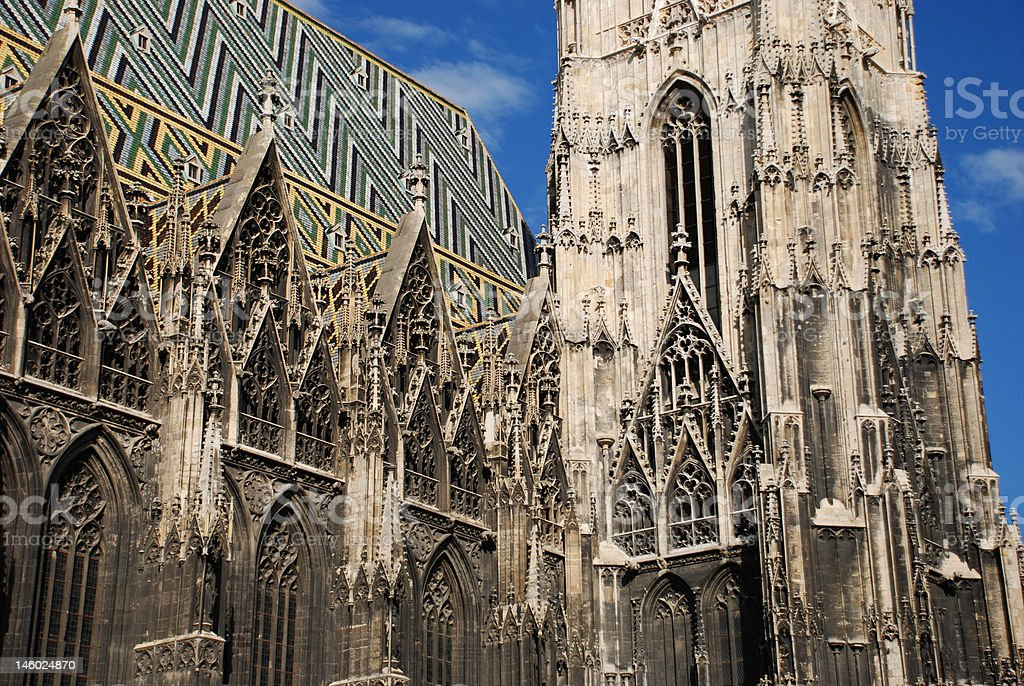 St. Stephans cathedral. royalty-free stock photo