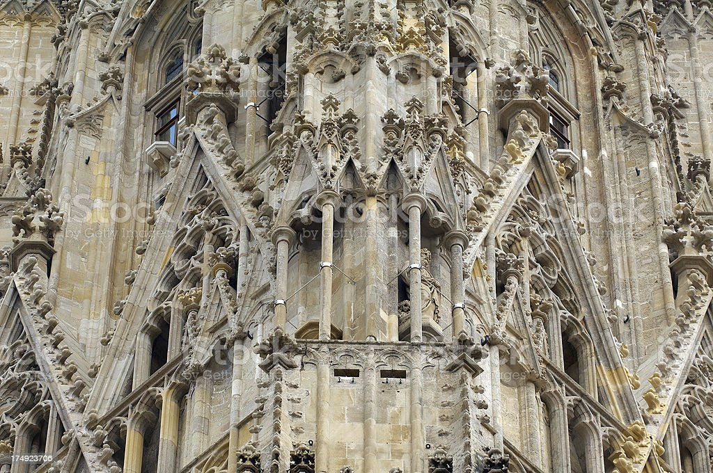 St. Stephen's Cathedral royalty-free stock photo