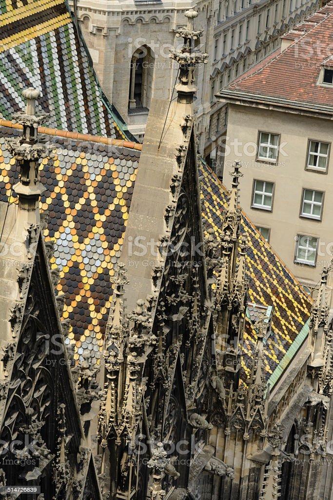 A Catedral de São Estevão, Viena - foto de acervo