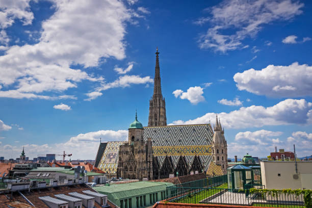 St. Stephen's Cathedral, Vienna stock photo