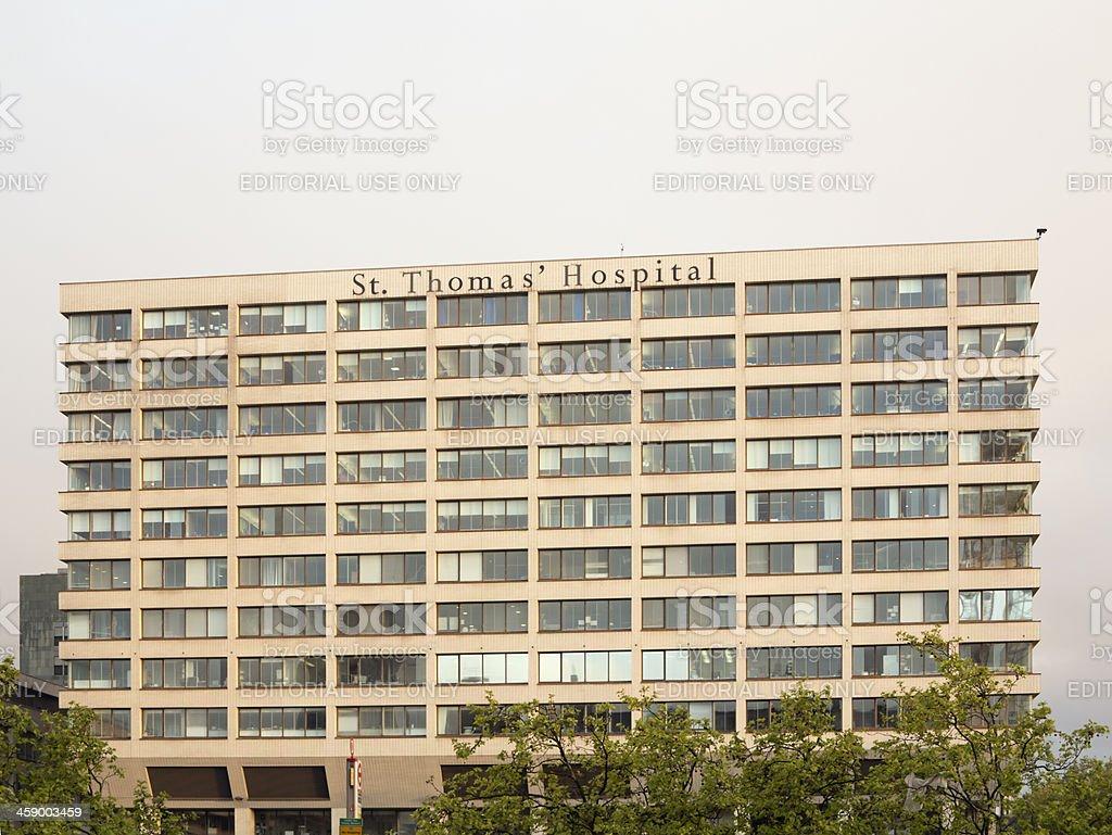 St Thomas' Hospital royalty-free stock photo