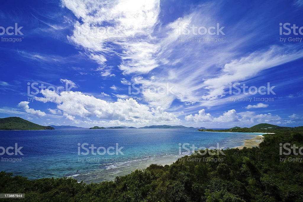 St. Thomas US Virgin Islands stock photo