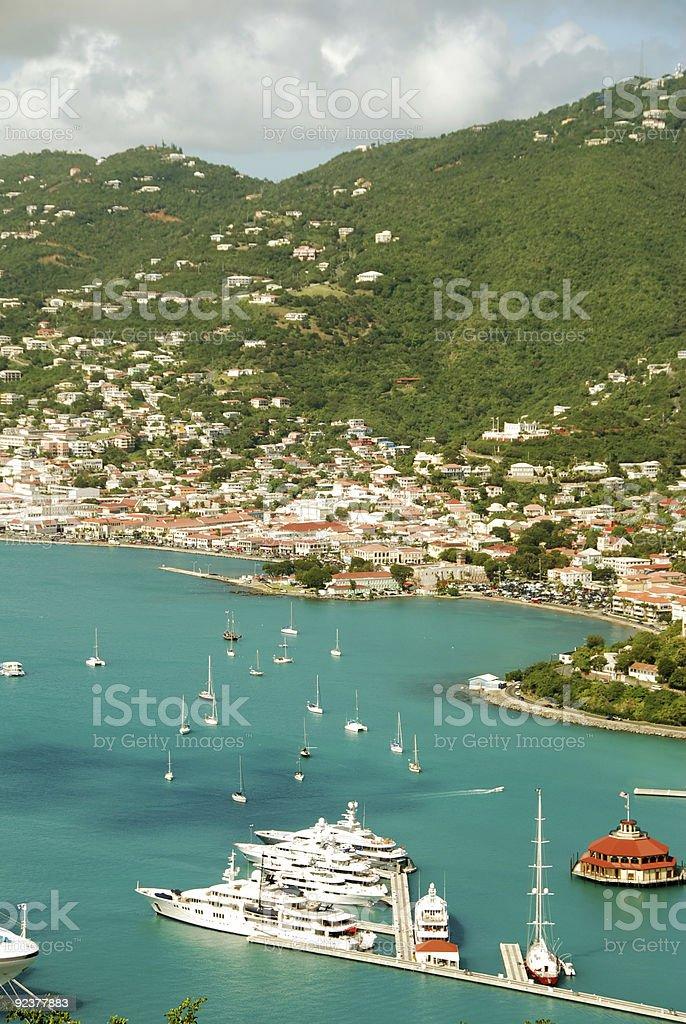 St Thomas, US Virgin Islands royalty-free stock photo