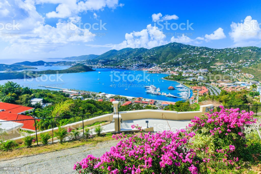 St. Thomas, USVI. stock photo