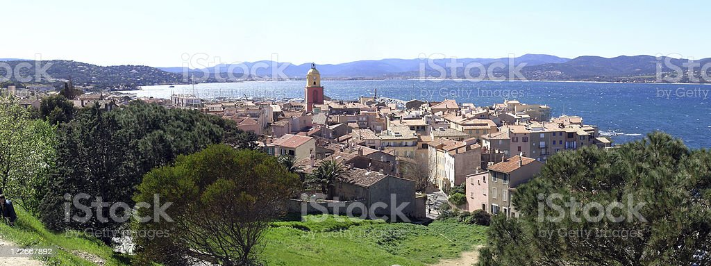 St. Tropez, French Riviera royalty-free stock photo