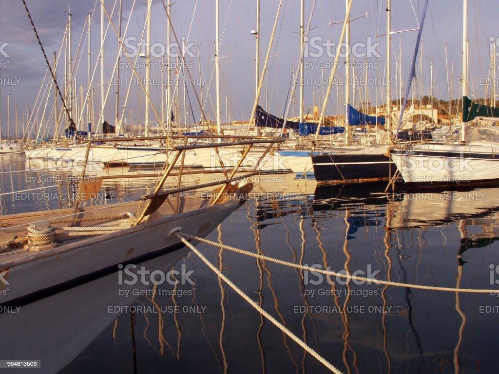 st tropez marina south of france cote d'azur royalty-free stock photo