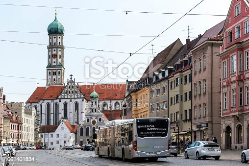 istock St. Ulrich's Abbey in Augsburg, Germany 1061401834