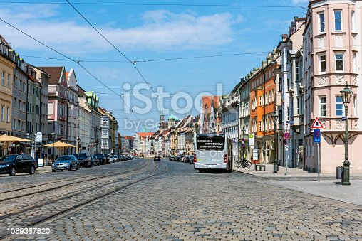 istock St. Ulrich's Abbey in Augsburg, Germany 1089367820