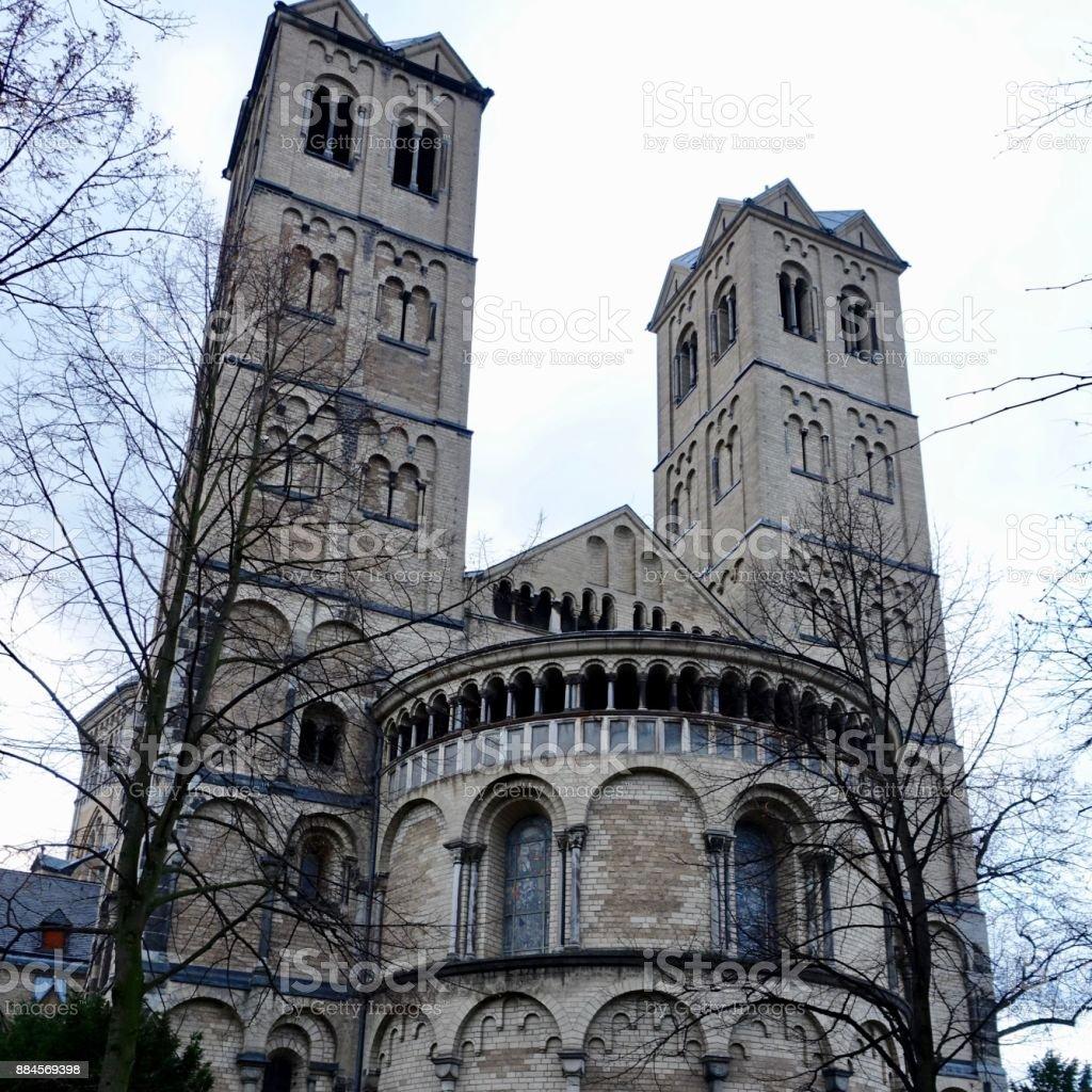 St. Ursula Church, Cologne stock photo