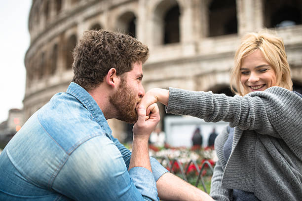 st. valentine dating in rome st. valentine dating in rome kissinghand stock pictures, royalty-free photos & images