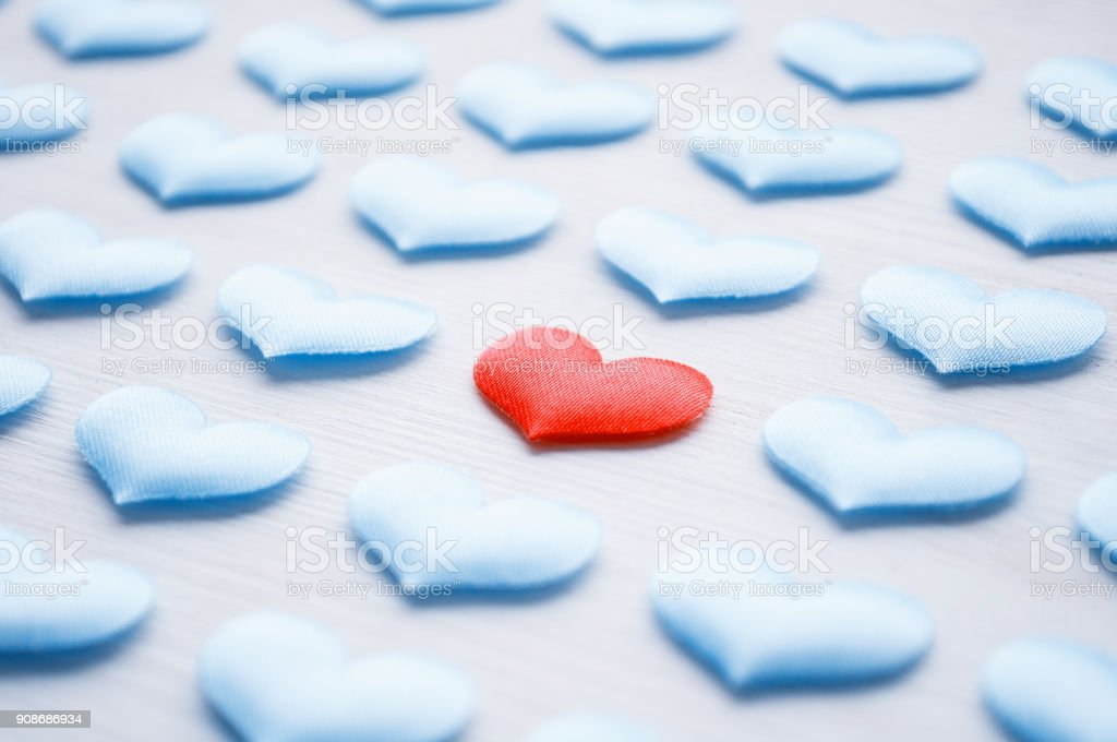 St Valentines day background stock photo